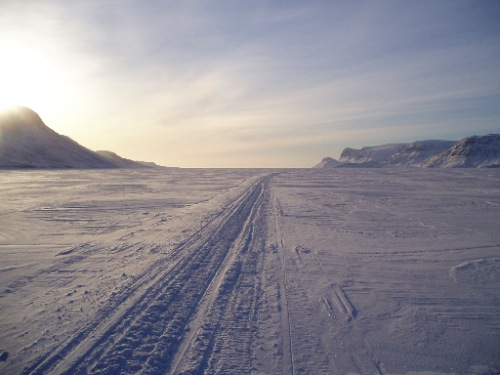 Sea ice continues to be used as an important travel